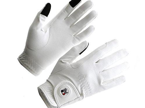 Metaro Ladies Riding Gloves - White