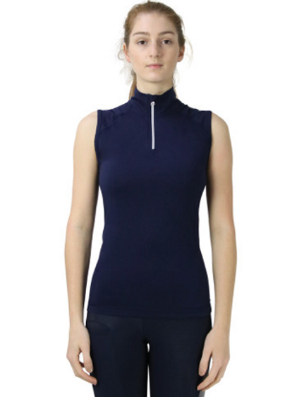 Hy Sport Active Sleeveless Top - Midnight Navy