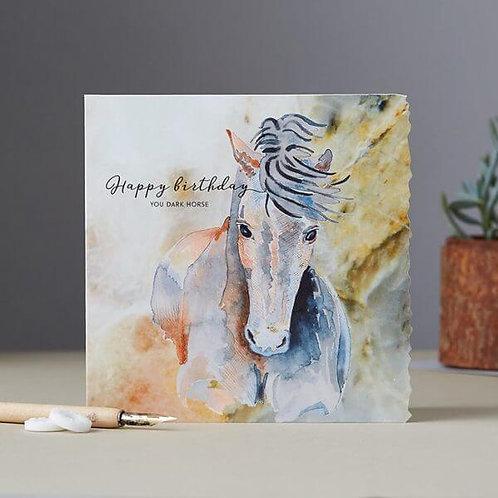 Happy Birthday, You Dark Horse Card