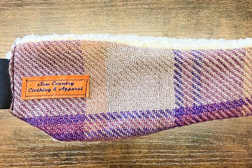 Sew Country Headband - Purple/Pink Tweed