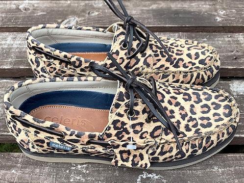 Celeris Deck Shoes - Leopard