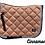 Thumbnail: Lustre Saddle Pad - Cinnamon