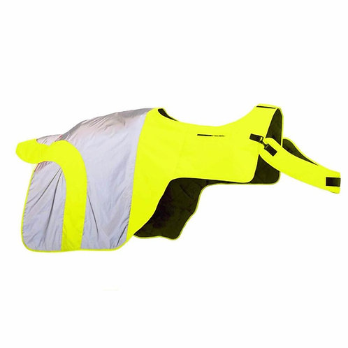 Equisafety Reflective Mercury Horse Exercise Rug - Yellow