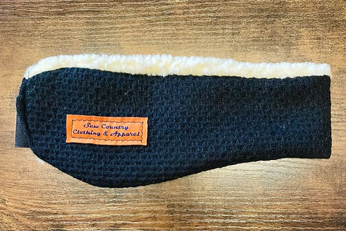 Sew Country Headband - Textured Black