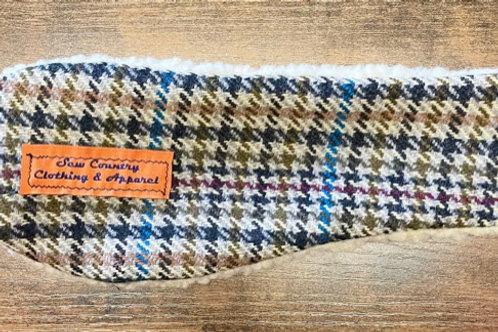 Sew Country Headband - Multicolour Tweed