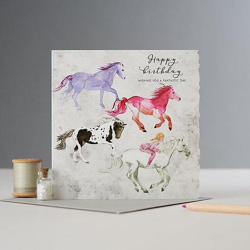 Happy Birthday Herd Card