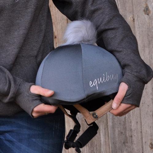 Equibug Hat Silk - Grey Shimmer