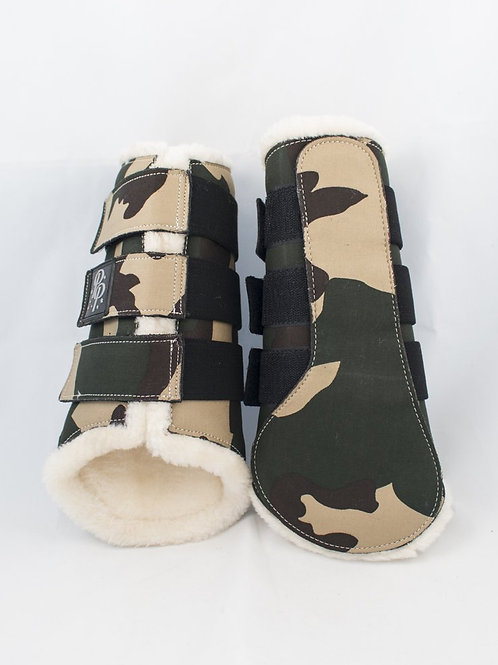 Punk Ponies Brushing Boots - Camo