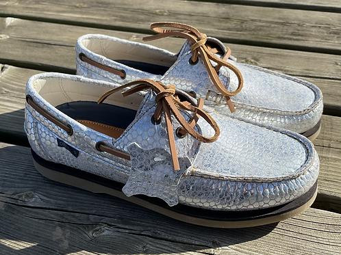Celeris Deck Shoes - Silver Scales