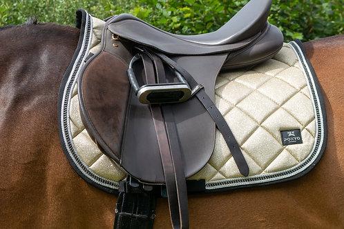 Lustre Saddle Pad - Gold Dust