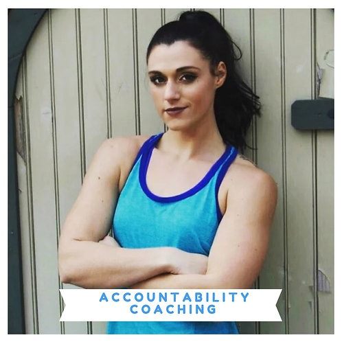 1:1 Accountability Coaching (Monthly)