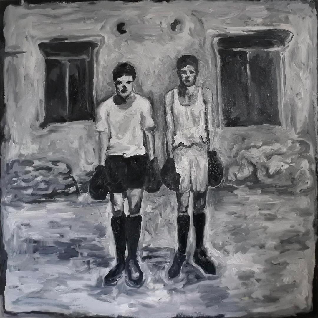 Frères boxeurs
