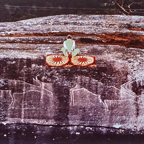 Corresponding with the Prehistoric Rock Paintings - Lapland