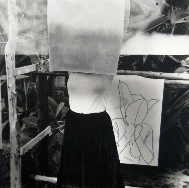 From the Series 'Body Art' - B&W Ficus