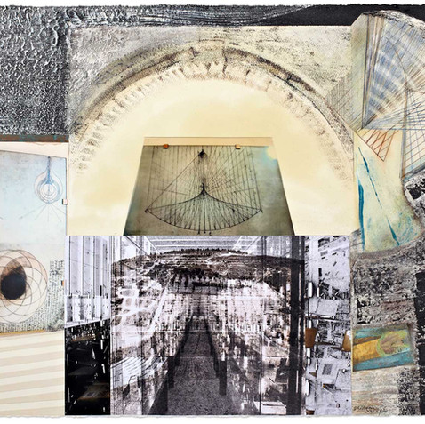 Homage to Leonardo's Scientific Manuscripts - The Archive Spreading