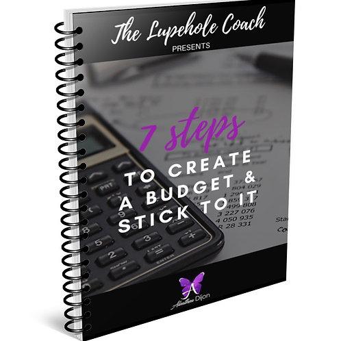 7 Steps to Create & Stick to a Budget