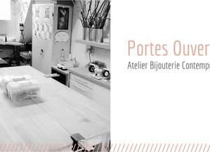 PORTES OUVERTES /// ATELIER BIJOU CONTEMPORAIN