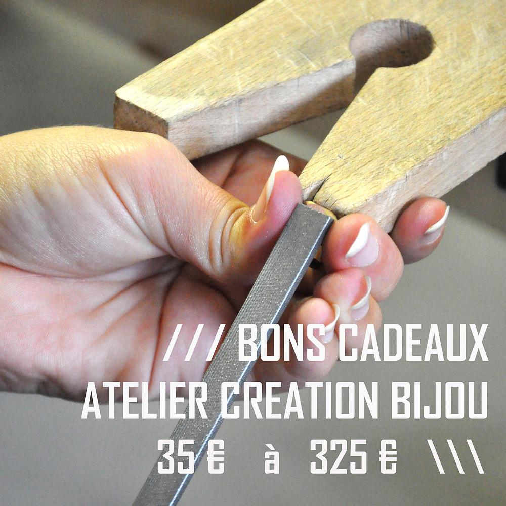 Bon Cadeau Atelier Creation Bijou Bruxelles