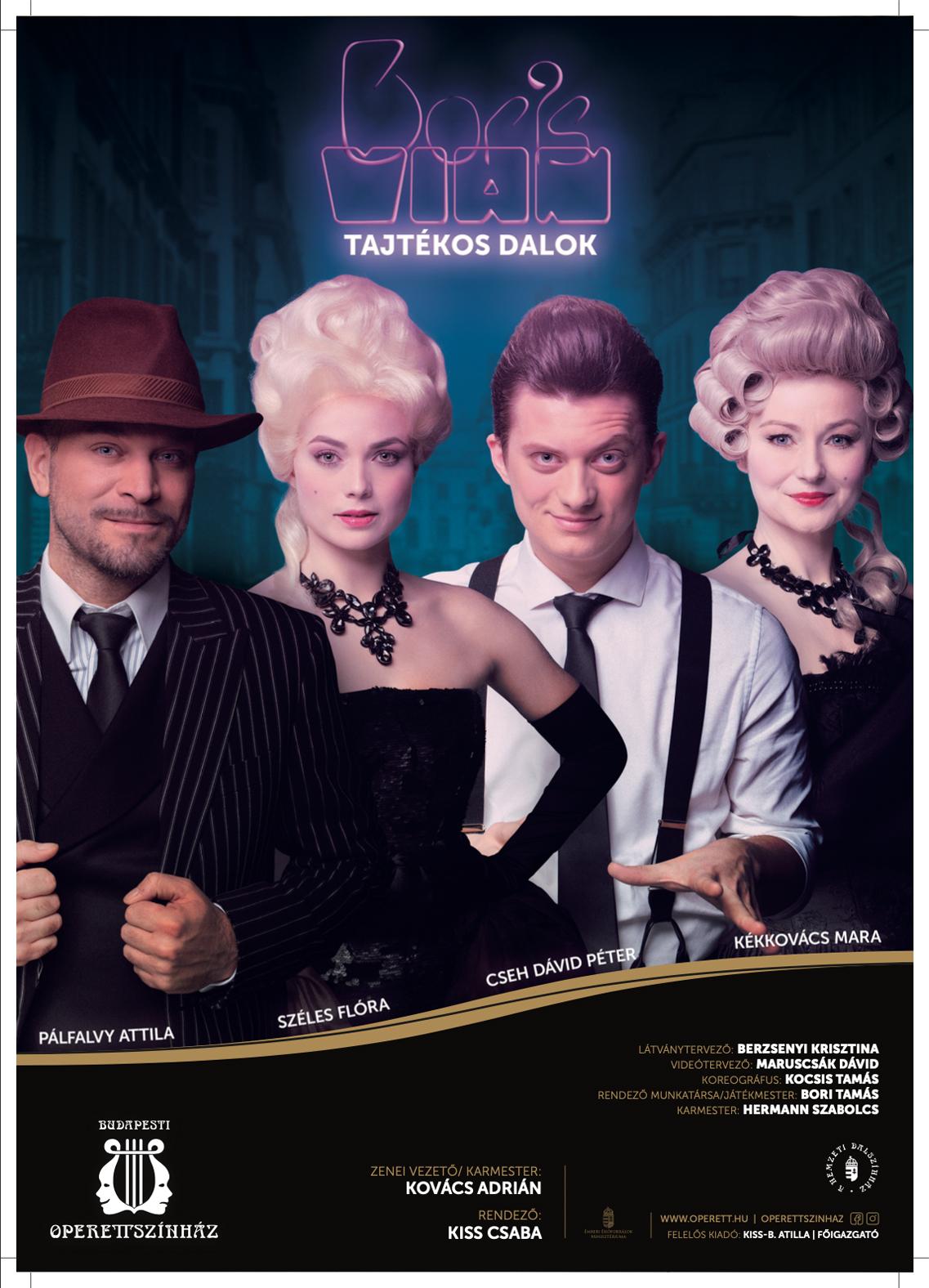 Tajtékos Dalok /Operettszínház/