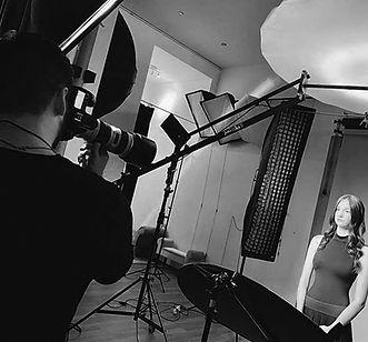 Portréfotózás stúdióban - Werkfotó