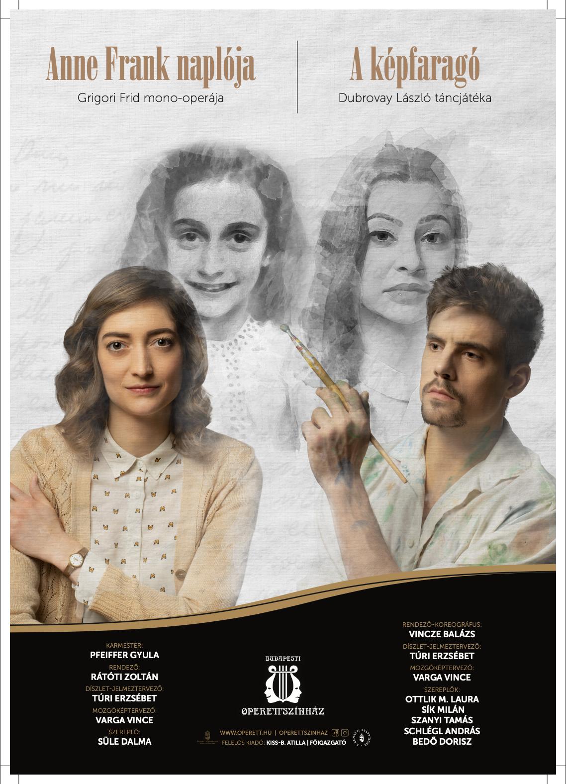 Anne Frank Naplója & A képfaragó /Operettszínház/