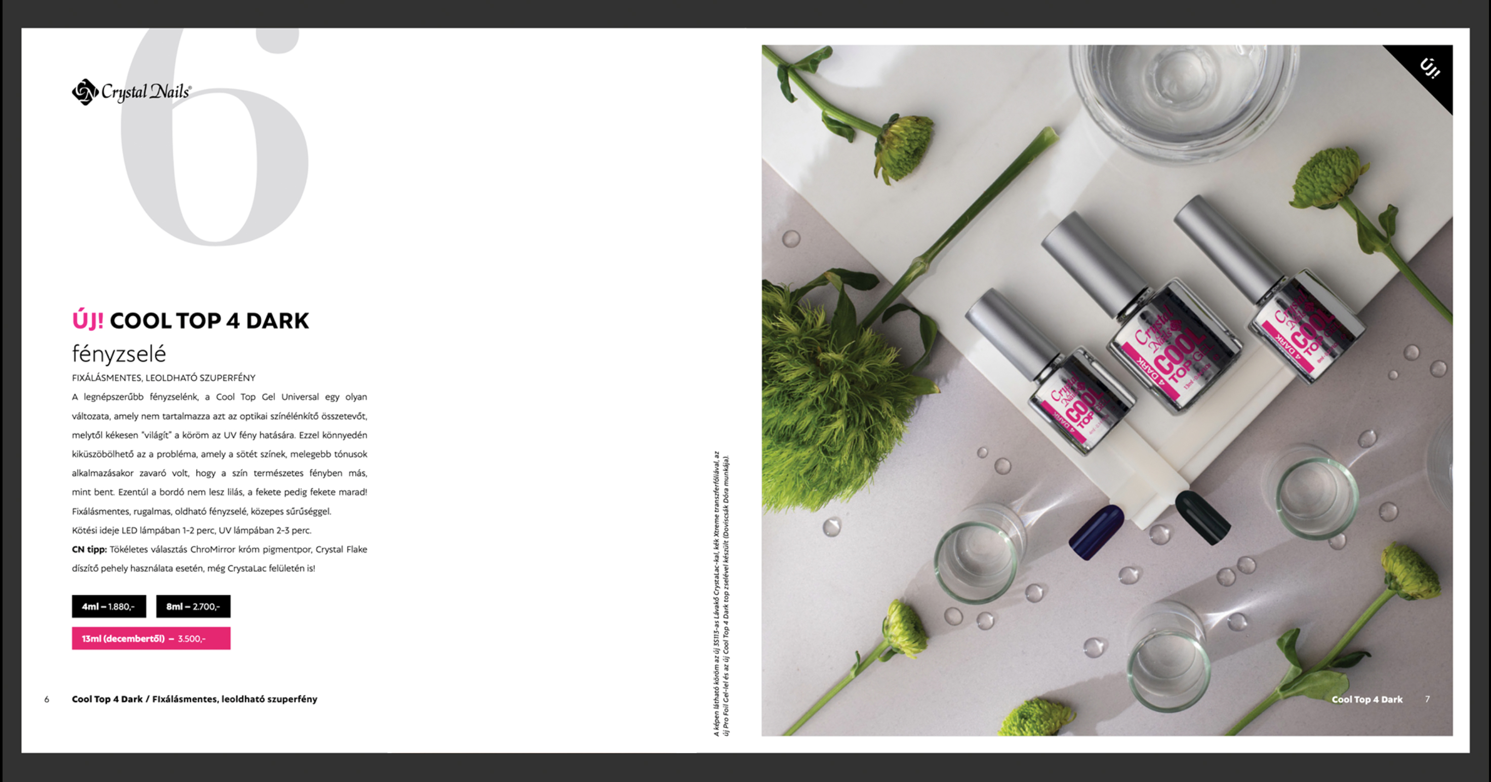 Crystal Nails  - kampányfotó - 01