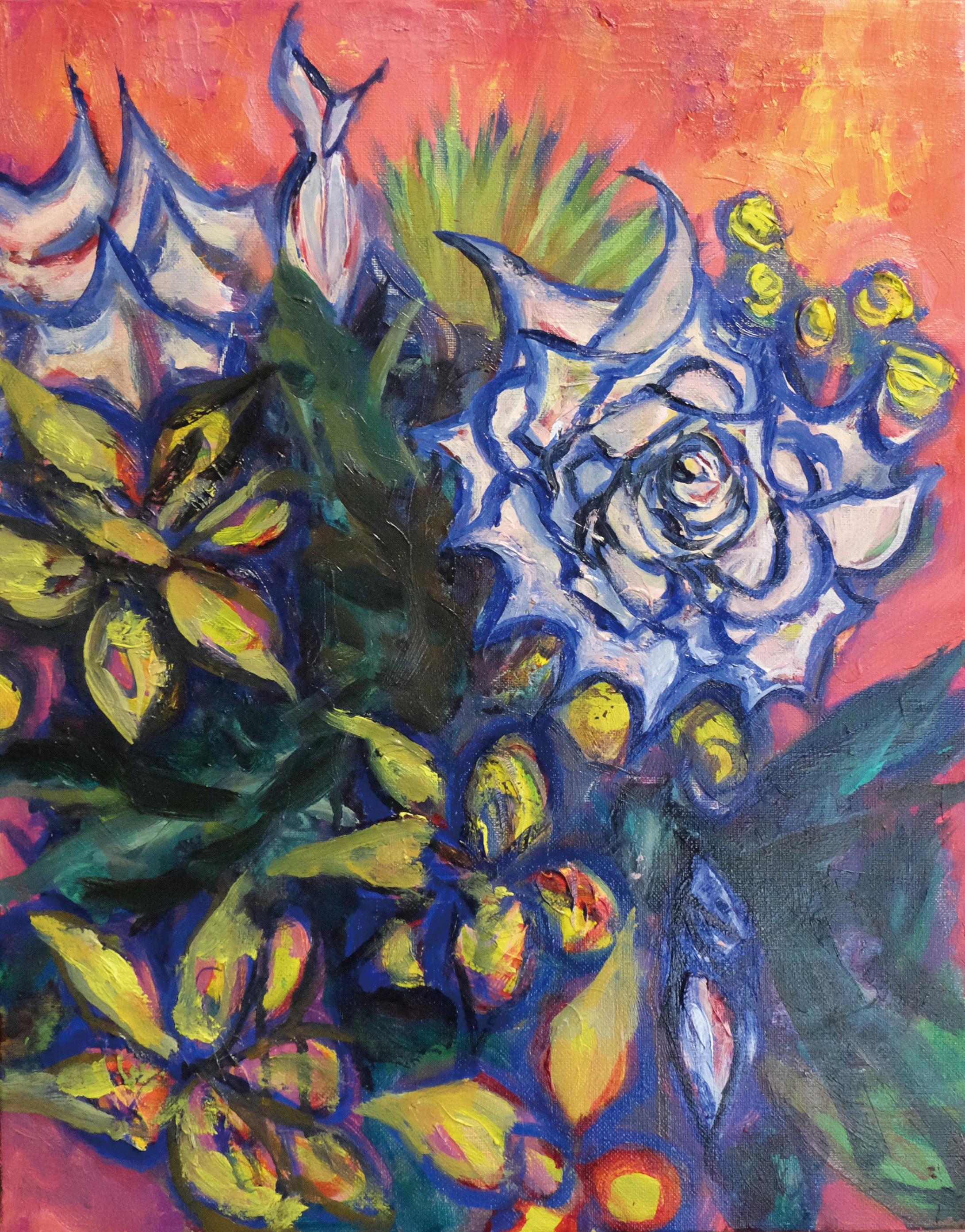 不敵な花/Defiant flowers