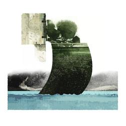 L'île I 50x50 cm I © Réf: 19 I Tirages limités à 20 exemplaires.