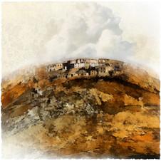 Terre Tibétaine I 50x50 cm I © Réf: 21 I Tirages limités à 20 exemplaires. Terre Tibétaine I 125x125 cm I © Réf: 71 I Tirages limités à 03 exemplaires.