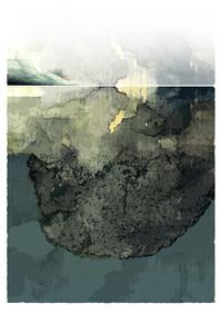 En-dessous I 50x70 cm I © Réf: 27 I Tirages limités à 20 exemplaires.