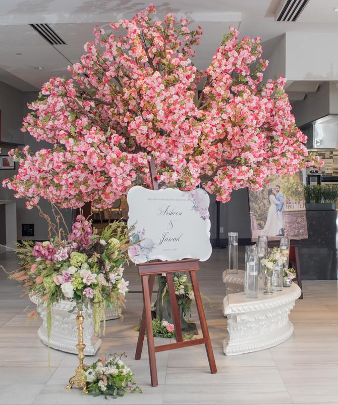 Life Size Cherry Blossom Trees