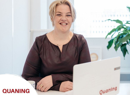 Sylvia Heistek over Quaning