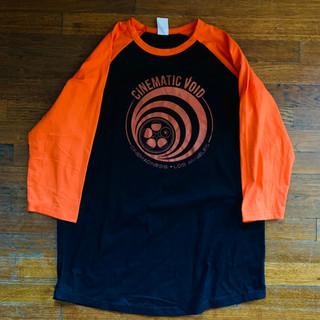 Void Orange Logo Baseball Tee 2019