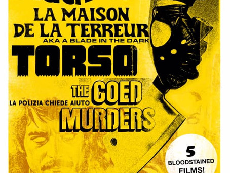 Tickets on sale now: January Giallo slashes again!