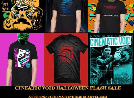 Cinematic Void Merch Halloween Flash Sale!