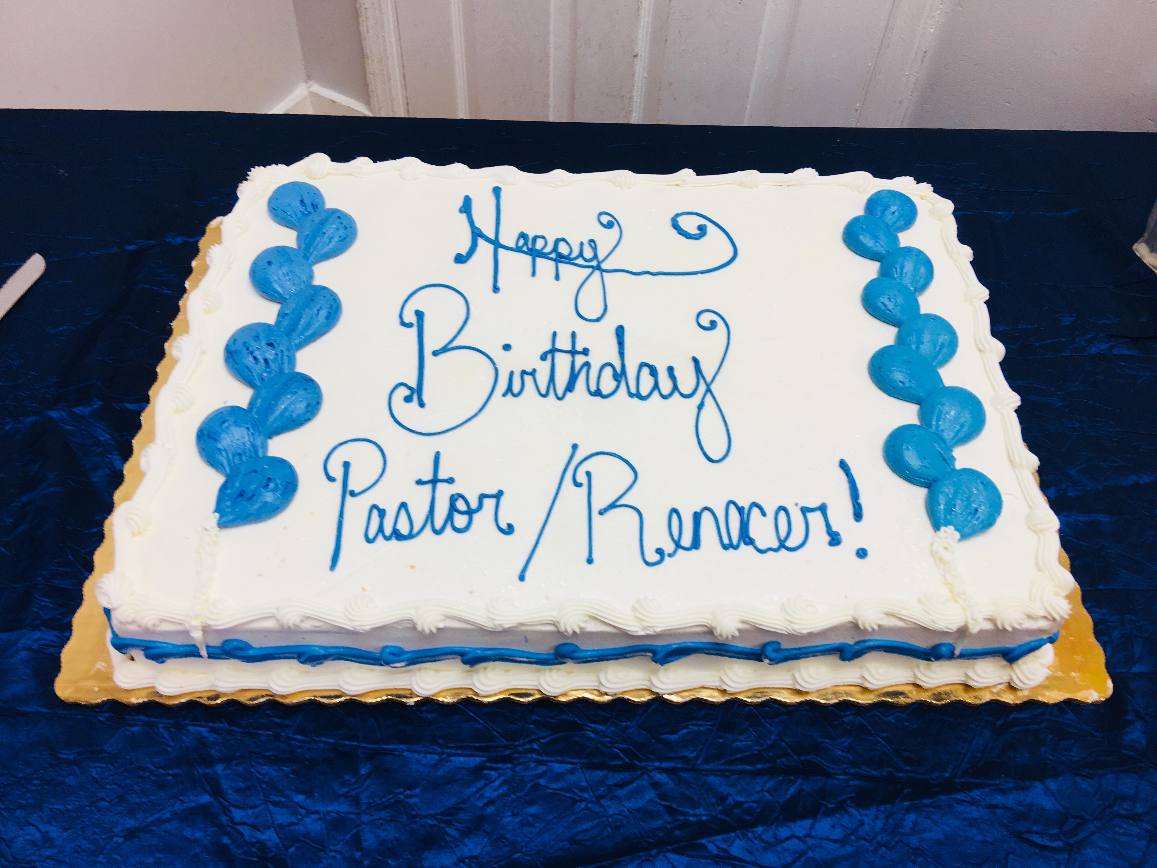 Cumpleaños del Pastor