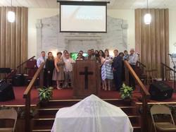 Presentación del nieto del Pastor
