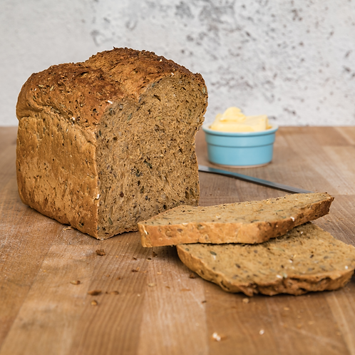 Warings Large Multiseed Loaf Unsliced - 800g ℮