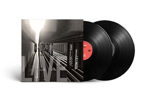 CHRISTIAN LILLINGERs - OPEN FORM FOR SOCIETY LIVE Double Vinyl
