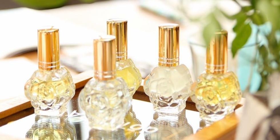 2021 6/22(火)【オンライン開催】ブレンドデザイン科「オリジナルアロマ香水ワークショップ」