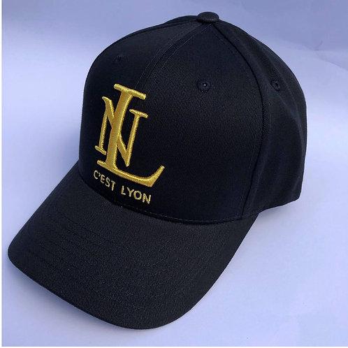 Cest Lyon Baseball Cap Black & Gold