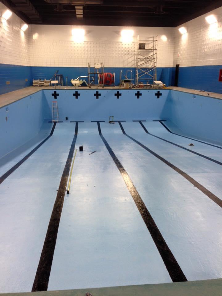 Peinture et epoxy piscine