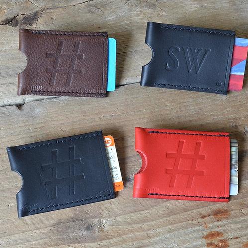 Travel Card Wallet - Hashtag Design