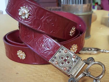Medieval Style Belt, Commission
