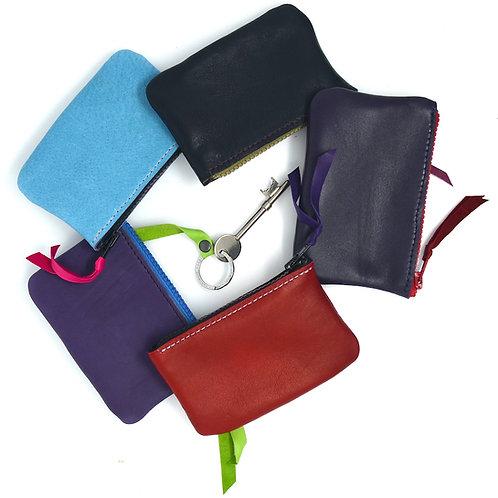 Sensuous Supple Leather Key Purse