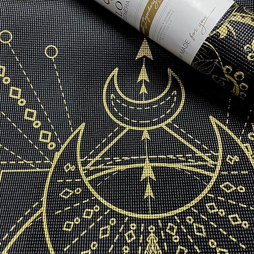 Midnight Sacred Moon Yoga Mat