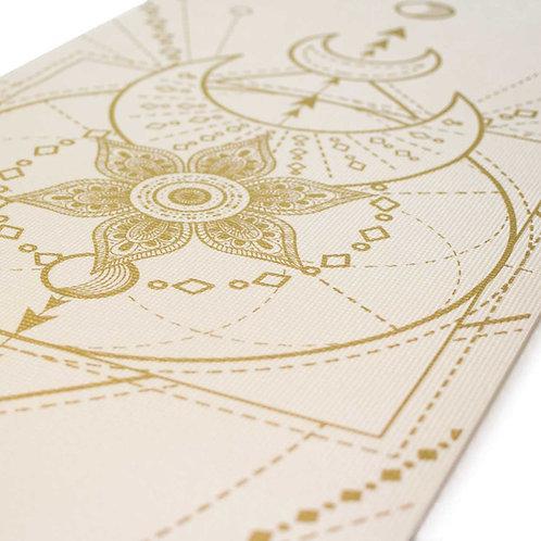 Ivory Sacred Moon Yoga Mat