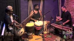 African instrument trio