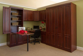 murphy bed with built in desk and drop down desk