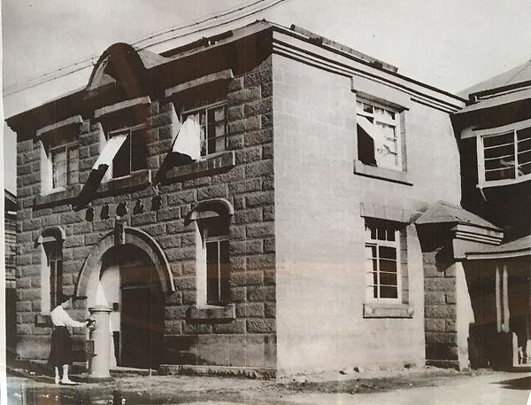 現役時代の石山郵便局